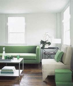 1001 idees decoration vert menthe fraicheur et legerete With couleur chaleureuse pour salon 11 comment decorer un salon marron