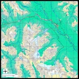Editable Lake Louise AB City Map - Illustrator / PDF ...