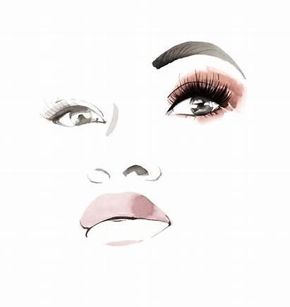 Eyes Eyelashes Lashes Animated Eye Maquillaje Blink