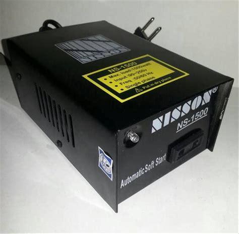 jual power auto start stabilizer 2 pcs soft start anti jeglek alat penghemat listrik