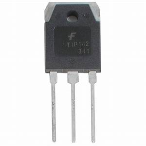 TIP142 Transistor NPN Darlington 100V 10A TO-247  Transistor