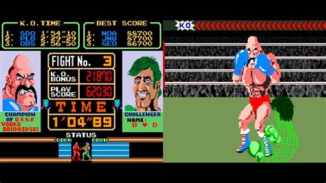 Arcade Game Super Punch Out 1984 Nintendo Youtube
