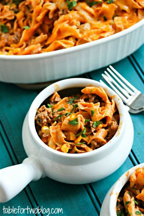 round table gluten free enchilada pasta casserole recipe