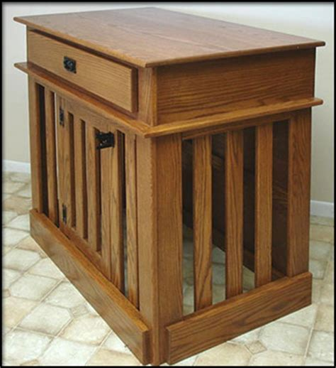 Dog Crate Kitchen Island Country Pet Furniture Store