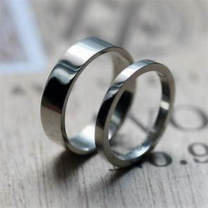palladium wedding band set palladium band palladium ring With mens alternative wedding rings