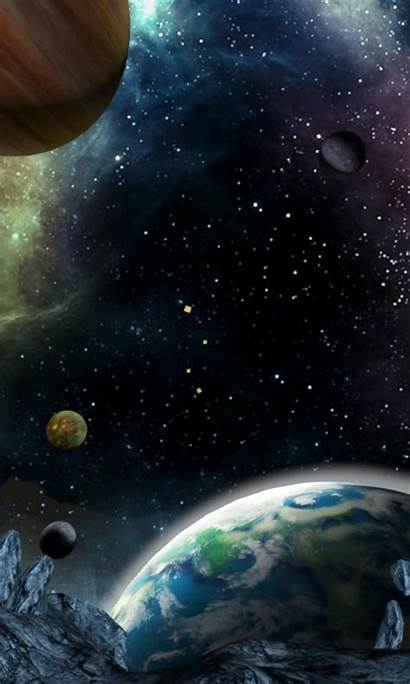 3d Galaxy Android Space Wallpapers App Devices