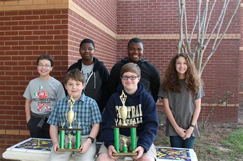 tcms students excel academic competitions thomas county middle school