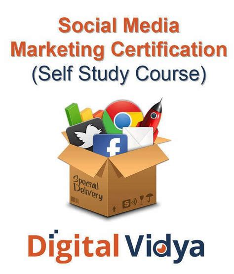 social media marketing certification free digital vidya social media marketing certification self