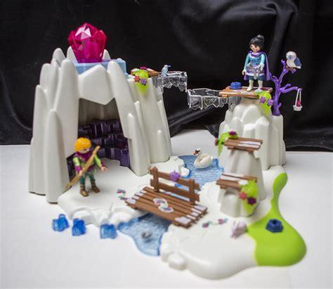review playmobil crystal palace  crystal diamond hideout figurescom