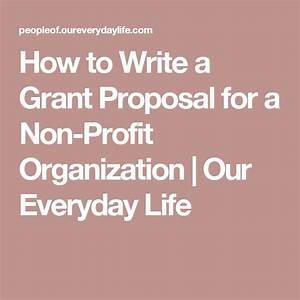 17 best images about grant writing for dummies on for How to write a grant letter for a nonprofit organization