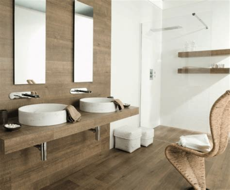 Wood Tiles In Bathroom by Amazing Bathrooms With Wood Like Tile Preview Chicago
