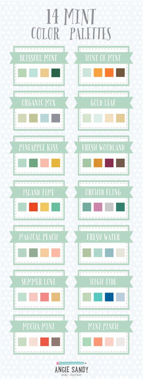 14 mint color palettes design f 228 rg och f 228 rger