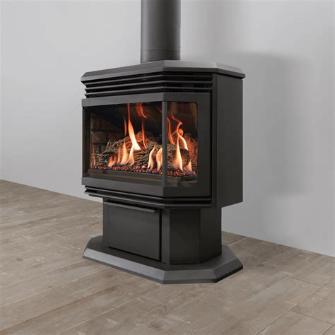 free standing propane fireplace archgard fireplaces gas fireplaces