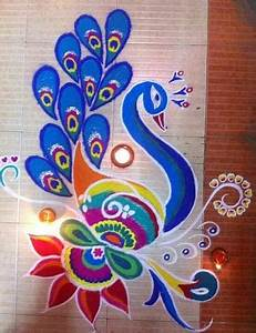 15 Best Free Hand Rangoli Designs With Images | Styles At Life