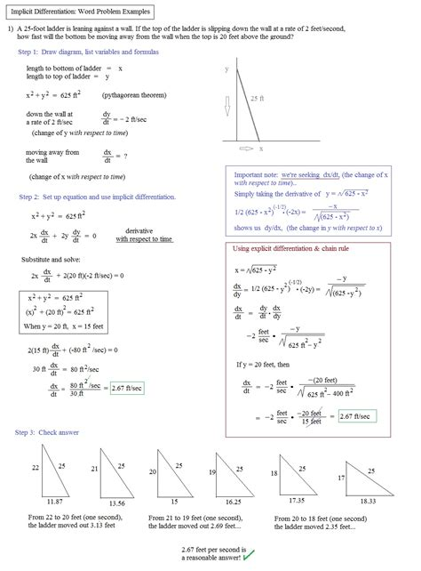 implicit differentiation worksheet the best worksheets