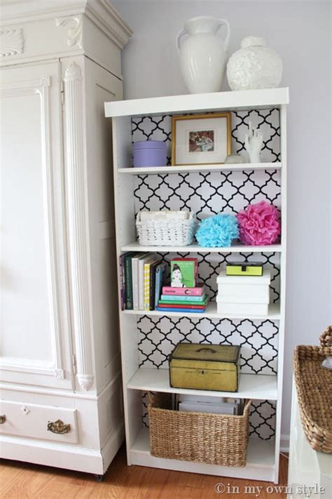 Painted Billy Bookcase by Ikea Billy Bookcase Makeover In My Own Style