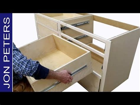 kitchen cabinets drawer slides how to build kitchen cabinets install drawer slides 6034