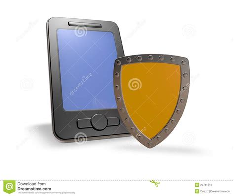 smartphone security smartphone security royalty free stock image image 29711316