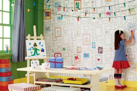 Ideen Kinderzimmer Bemalen by Tapeten Der 70er
