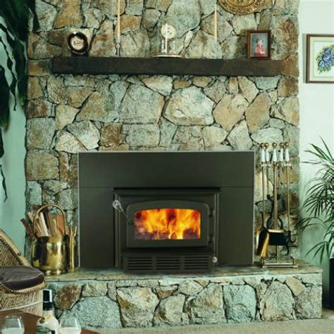 drolet escape  wood burning fireplace insert  blower