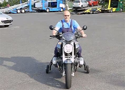 Landing Gear Technology Helps Disabled Riders Remain