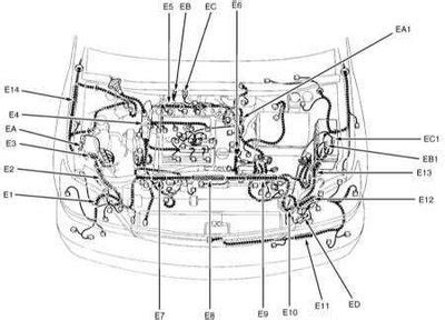 wiring diagram electric joints lexus rx