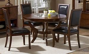 5 pc homelegance avalon round dining set for Home elegance furniture warehouse