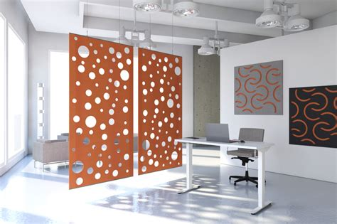 acoustical wall paneling  offices  echodeco custom