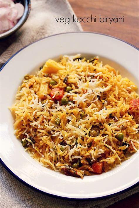 Kitchens Of India Hyderabadi Biryani by Veg Biryani Recipe M A K E M I N E V E G A N