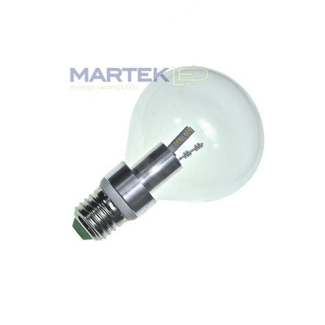 g25 led globe shaped light bulb 3 5 watt clear