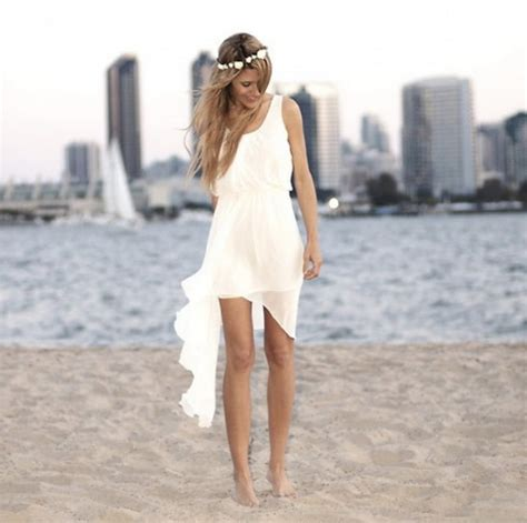 short beach wedding dresses  brides