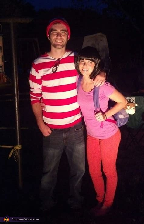 dora  waldo couple halloween costume idea
