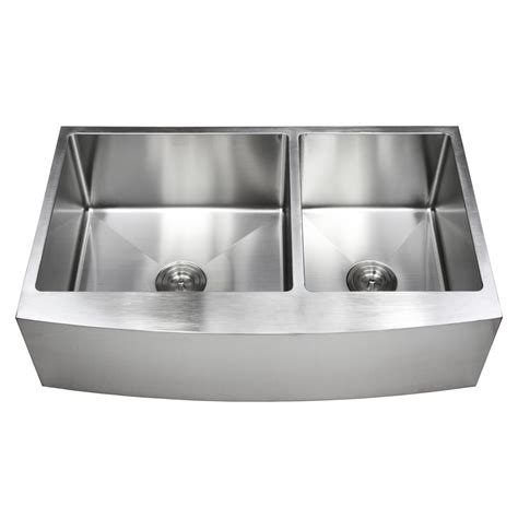 kitchen sink packages 36 inch stainless steel curved front farm apron 60 40 2810