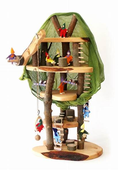 Tree Dolls Toys Decor