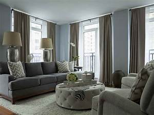 Living room color schemes modern house for Grey color schemes for living room