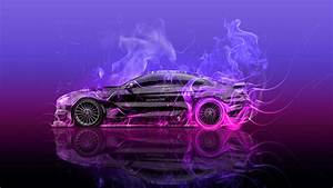 BMW M6 Hamann Tuning Side Super Fire Car 2015 Wallpapers