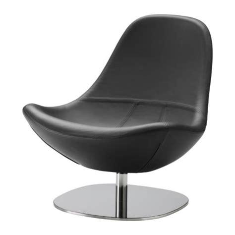 designer ledersessel ikea tirup drehsessel schwarz ledersessel leder napa sessel designer lounge neu ebay