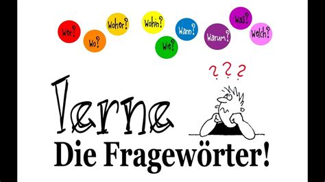 words question german