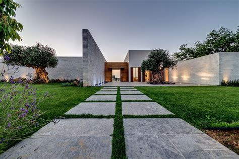 farmhouse building plans modern luxury villas designed by gal marom architects