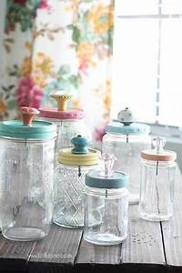 25 best ideas about glass jars on pinterest mason jar With what kind of paint to use on kitchen cabinets for inexpensive glass candle holders