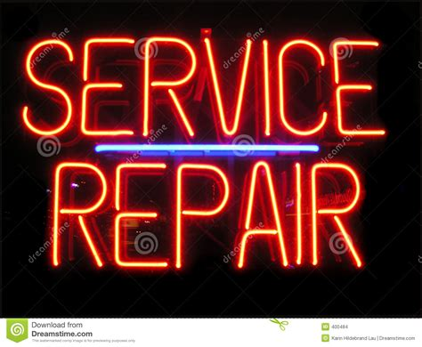 Service Repair Stock Photo. Image Of Advertise, Mobile