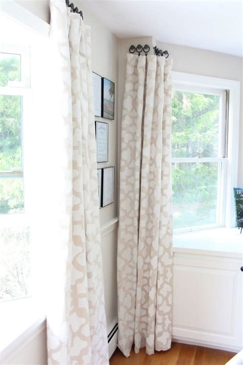 alternative ways to hang curtains 35 creative ways to hang curtains like a pro bored