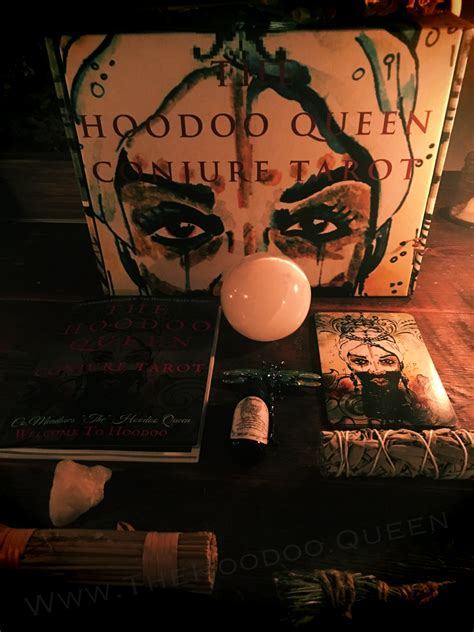 Has been added to your cart. The Hoodoo Queen Conjure Tarot - Co.Meadows Conjure