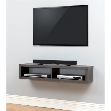Tv Component Shelf by Martin Home Furnishings 48 Quot Shallow Wall Mounted Tv