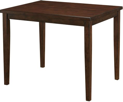 cherry dining table marten brown cherry square counter height dining table
