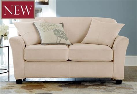 Loveseat Cushion Covers by Ultimate Heavyweight Stretch Suede Separate Seat Loveseat