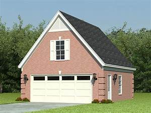 two car garage plans 2 car garage loft plan with reverse With 20x20 garage with loft
