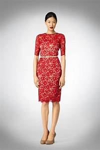 Red lace prom dress   Trendy Dress
