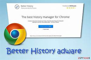 Remove Better History  Free Instructions