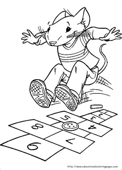 stuart  coloring pages educational fun kids